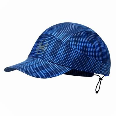 Кепка Buff PACK RUN CAP r-deep logo darg navy, 113707.790.10.00  - купить со скидкой