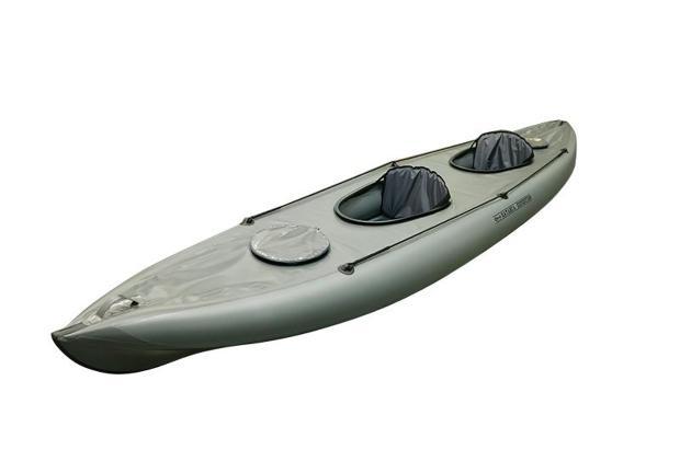 Байдарка каркасно надувная Stream ХАТАНГА-EXPEDITION,  - купить со скидкой