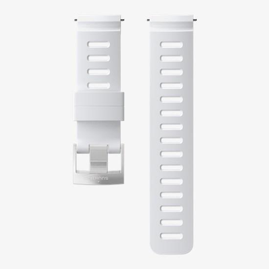 Ремешок Силиконовый Для D5, Белый, Стальная Застежка фото