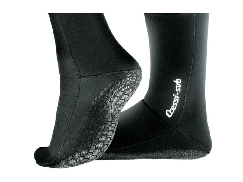 Cressi Sole Носки Черные 7 Мм