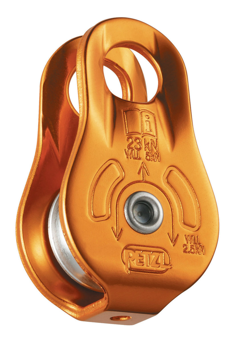 Блок-ролик Petzl FIXE yellow фото картинка