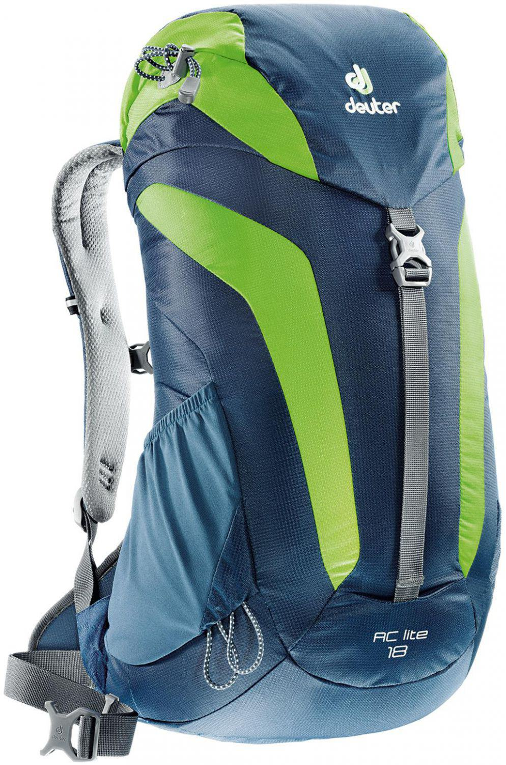Фото рюкзак deuter ac lite 18 midnight/kiwi