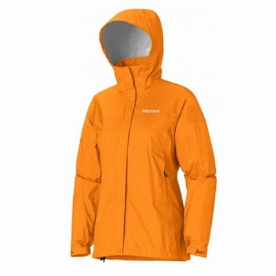 Ветровка Женская Спортивная  Marmot Precip Jacket Lady Orange