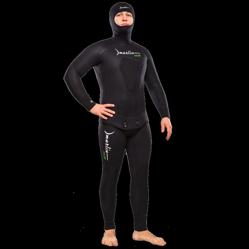 Гидрокостюм Marlin SKIFF 2.0 черный, 3 mm (короткие штаны), 11872  - купить со скидкой