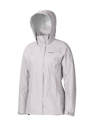 Ветровка Женская Спортивная  Marmot Precip Jacket Lady Platinum
