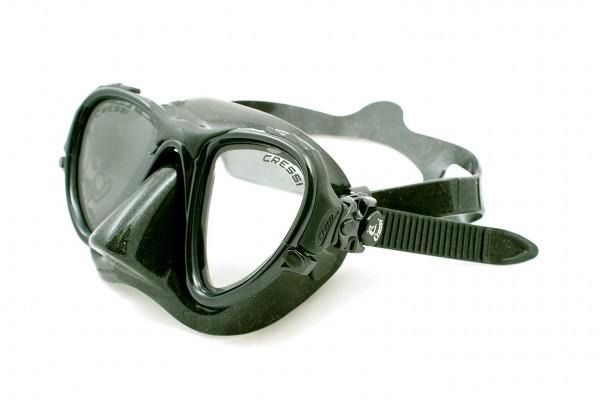 Купить со скидкой Маска Подводная Cressisub Occhio Plus Color (Черный Силикон)