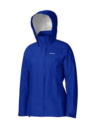 Ветровка Женская Спортивная  Marmot Precip Jacket Lady Astral Blue