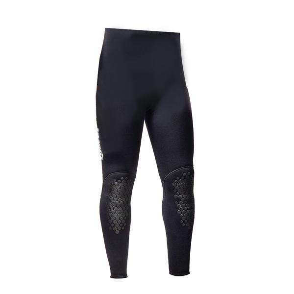 Штаны короткие гидрокостюма для подводной охоты MARES SQUADRA 55, 5,5 мм, с открытой порой внутри, цвет черный, 422450S3  - купить со скидкой