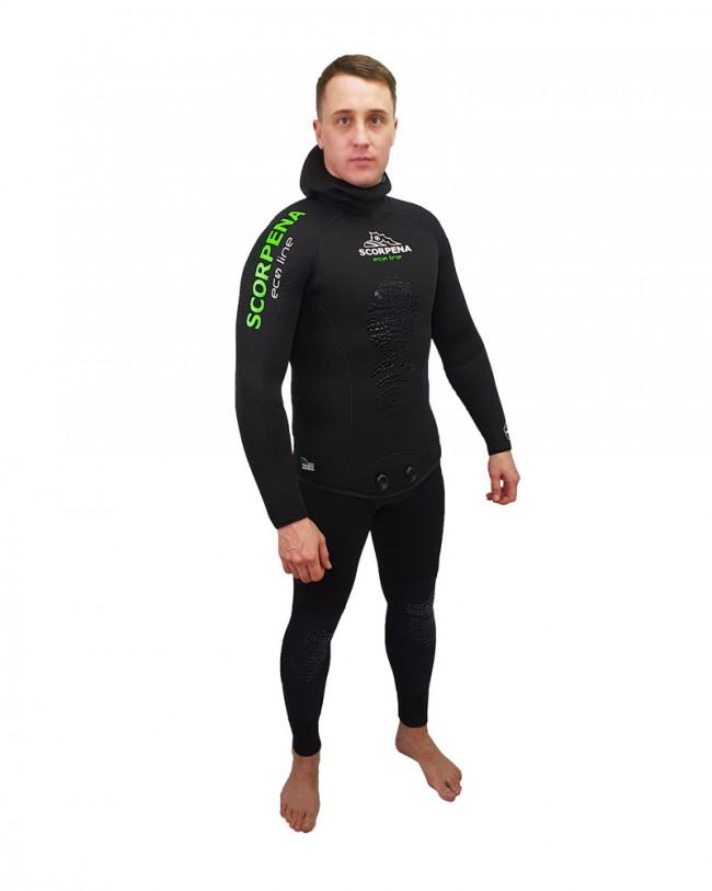 Гидрокостюм Scorpena Ecoline Нейлон 5Мм