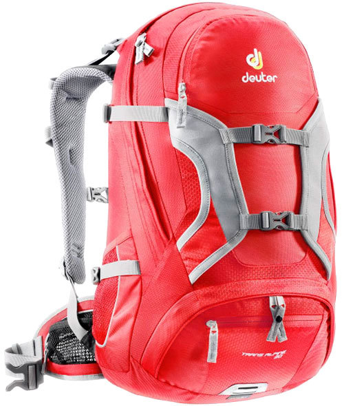 Велорюкзак Deuter Trans Alpine 30 Fire/cranberry