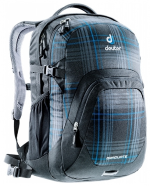 Фото рюкзак deuter graduate 28 blueline check