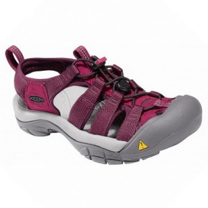 Фото сандалии keen newport h2 lady kiwi/madder brown