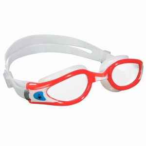 Фото очки для плавания aquasphere kaiman exo  lady прозрачные линзы red/white