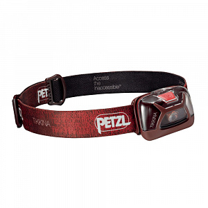 Фонарь Petzl TIKKINA red фото
