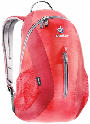 Фото рюкзак deuter city light 16 fire/cranberry