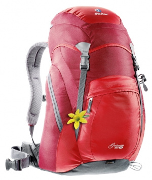 Фото рюкзак deuter groden 30 sl fire/cranberry