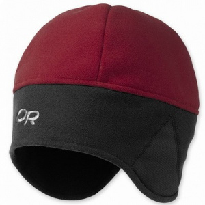 Фото шапка outdoorresearch windwarrior hat retro red/black
