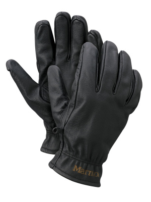 Фото перчатки marmot basic work glove man black