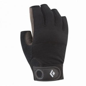 Фото перчатки black diamond crag half-finger black