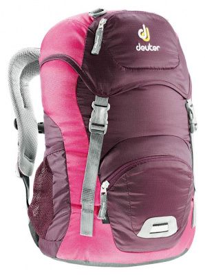 Фото рюкзак deuter junior aubergine/magenta