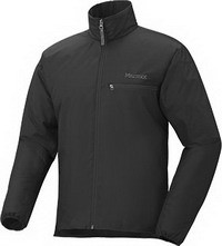 Фото ветровка мужская marmot original driclime windshirt black