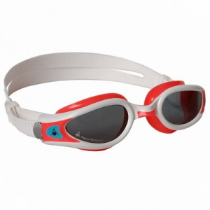 Фото очки для плавания aquasphere kaiman exo  lady темные линзы red/white
