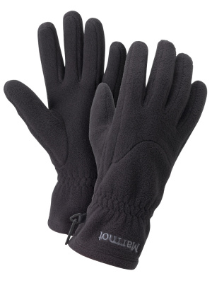 Фото перчатки marmot fleece glove man true black