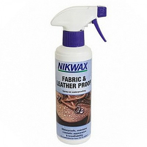 Пропитка Nikwax Fabrick & Leather Spray 125мл фото