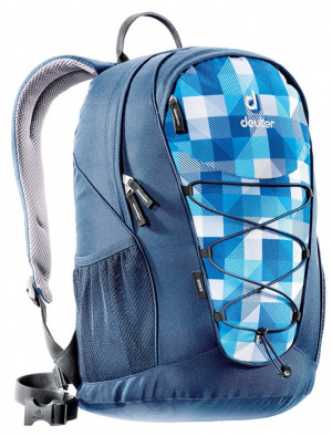 Фото рюкзак deuter go go 25 blue/arrowcheck