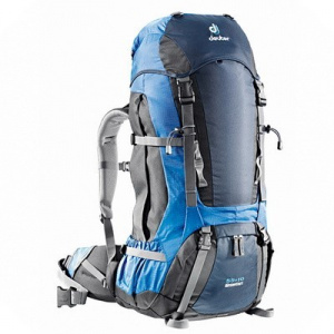 Фото рюкзак deuter aircontact 55+10 granite/black
