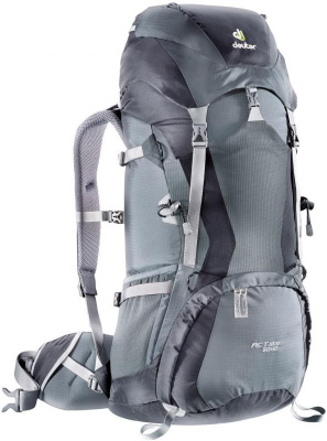 Фото рюкзак deuter act lite 50+10 granite/black