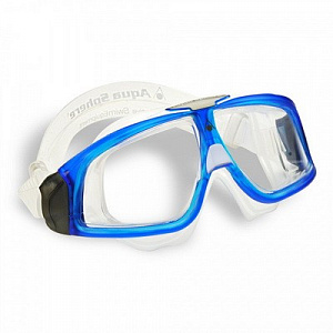 Очки для плавания AquaSphere SEAL 2 Transparent/Blue прозрачные линзы фото