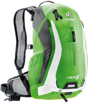 Фото велорюкзак deuter race x 12 spring/white