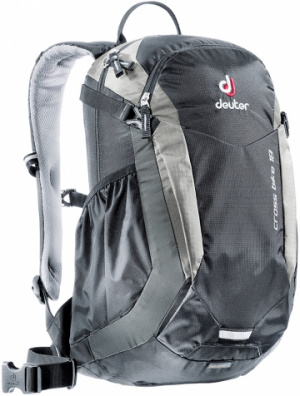 Фото велорюкзак deuter cross bike 18 black/silver