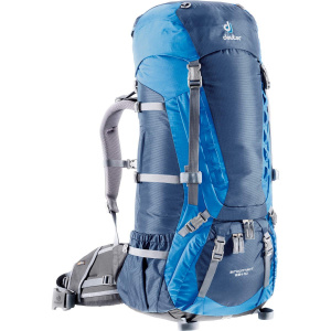 Фото рюкзак deuter aircontact 65+10 midnight/ocean