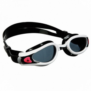 Фото очки для плавания aquasphere kaiman exo  lady темные линзы white/black