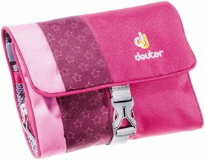 Фото косметичка deuter wash bag kids i pink