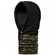 Капюшон-шарф Buff HOODIE green hunt/black