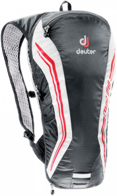 Фото рюкзак deuter road one black/white