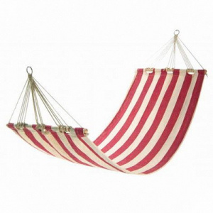 Фото гамак kingcamp canvas hammock red с планкой