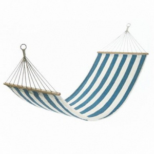 Фото гамак kingcamp canvas hammock blue с планкой