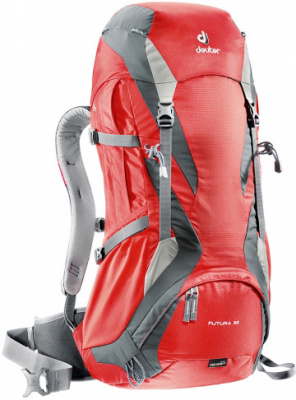 Фото рюкзак deuter futura 32 fire/granite