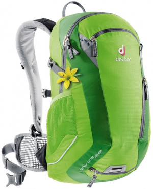 Фото велорюкзак deuter bike one 18 sl kiwi/emerald